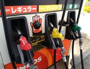 さいたま市内のガソリンスタンド=2017年6月