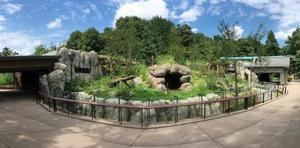 上野動物園に新設されるジャイアントパンダの飼育施設(東京動物園協会提供)