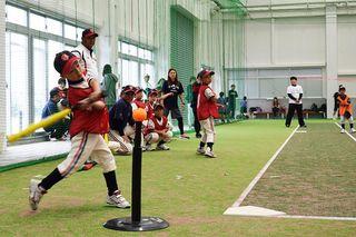 津田ティーグルスに栄冠 第1回県小学生ティーボール選手権