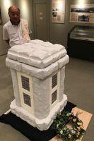 ドイツ兵慰霊碑建立100周年を記念した企画展=鳴門市大麻町の市ドイツ館