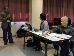 語り部らが意見を交わしたワークショップ=阿南市福井町の福井公民館