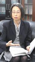 「3年間しっかりと取り組み、新オフィスの結果を出したい」と語る岡村和美消費者庁長官