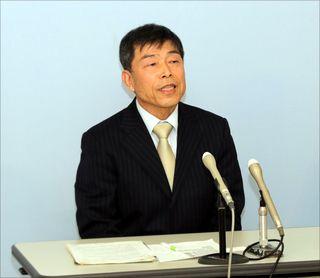 天羽氏 徳島県知事選出馬表明 共産「記念オケ疑惑 解明」