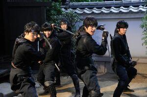 映画『忍ジャニ参上!未来への戦い』場面カット (C)2014「忍ジャニ参上!」製作委員会