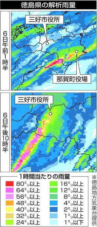 西日本豪雨、徳島県内死傷者ゼロは「偶然」 専門家ら日々の備え訴え