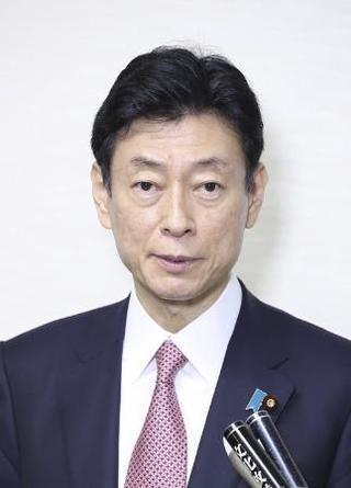 西村氏、コロナ感染増加に危機感