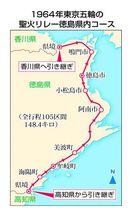 聖火リレー誘致に全市町村が名乗り 徳島県、対応に苦慮