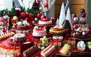 クリスマスを先取り! 最大1.2mの特製ブッシュド…
