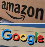 アマゾン、アマゾン・コムのロゴ(ロイター=共同)