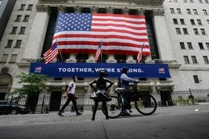 ニューヨーク証券取引所=7月7日(AP=共同)