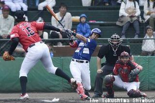 徳島インディゴソックス、谷田成吾は2試合連続安打