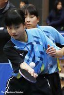 卓球の全国・四国中学校選抜大会予選 男子 城西A、…