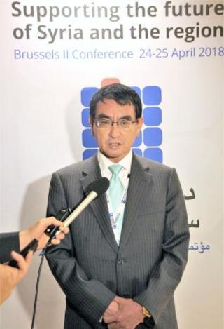 シリア住民支援で国際会議