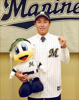 徳島インディゴ・鎌田投手、ロッテ入団 「支配下登録へ頑張る」