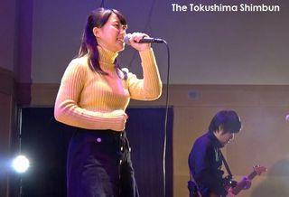 【POLUニュース】2・10 丸山純奈さんバレンタインライブ@香川・まんのう公園