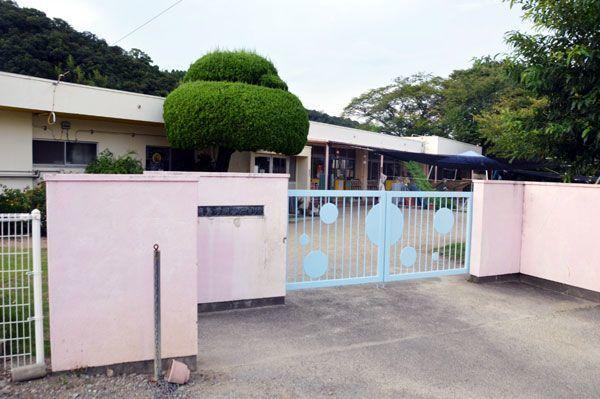 保育時間が他と比べて大幅に短い施設の一つ、明善保育所=徳島市上八万町下中筋