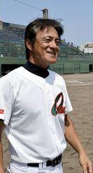 こども野球のつどいで初優勝した大松少年野球部の監督…