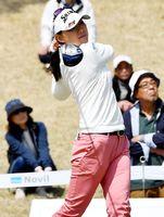 128位タイで予選落ちした横峯=Jクラシックゴルフクラブ